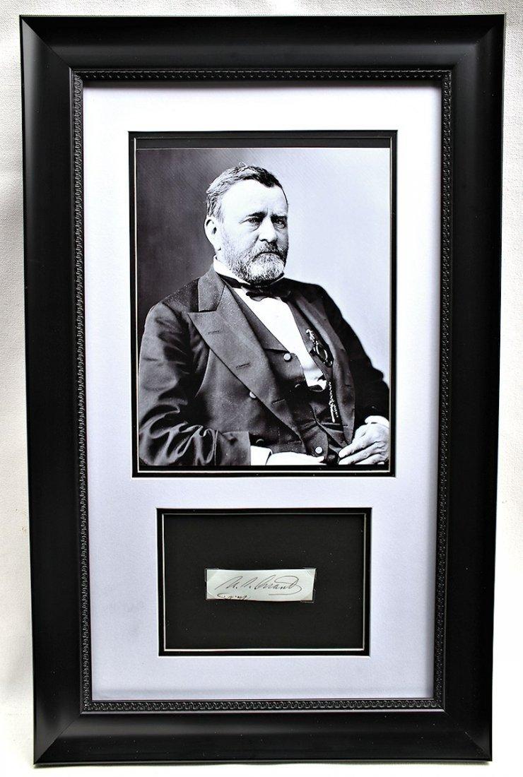 President Ulysses S. Grant Autograph Signature