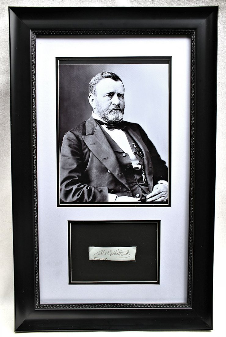 President Ulysses S. Grant Autograph Signature - 5