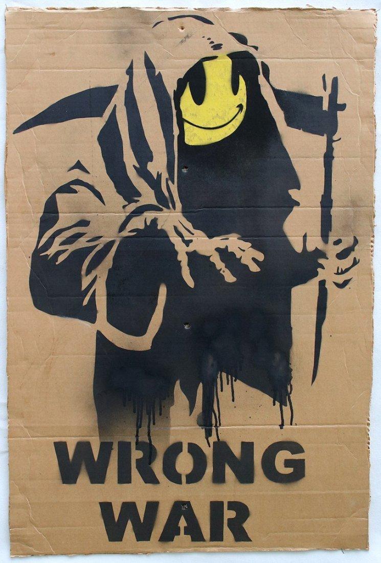 Original Banksy Graffiti Assoc. Warhol Basquiat Haring - 2