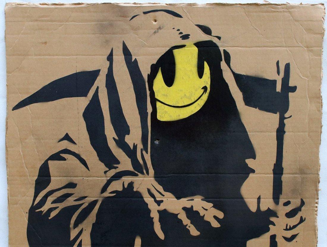 Original Banksy Graffiti Assoc. Warhol Basquiat Haring - 3