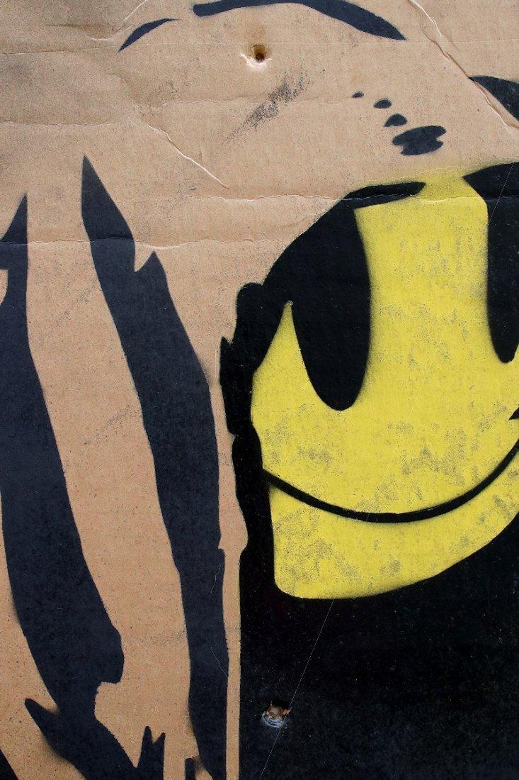 Original Banksy Graffiti Assoc. Warhol Basquiat Haring - 5