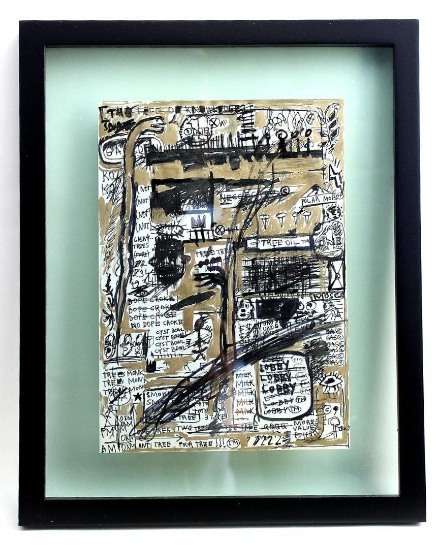 Jean Michel Basquiat 1960-1988 Friend of Haring Warhol