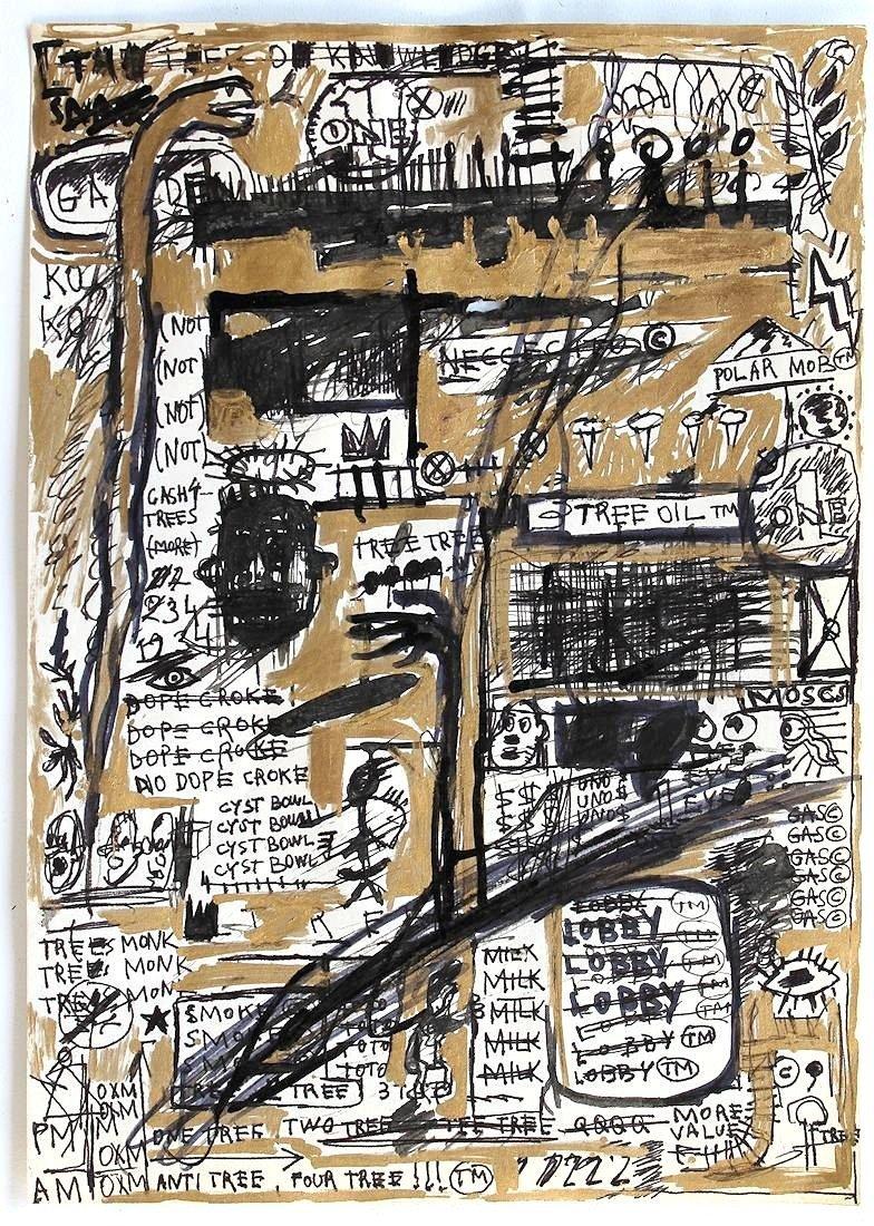 Jean Michel Basquiat 1960-1988 Friend of Haring Warhol - 2