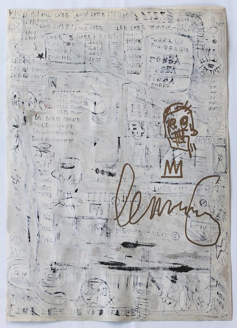 Jean Michel Basquiat 1960-1988 Friend of Haring Warhol - 3