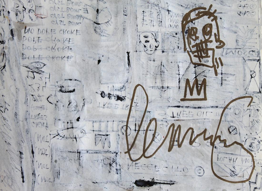 Jean Michel Basquiat 1960-1988 Friend of Haring Warhol - 4