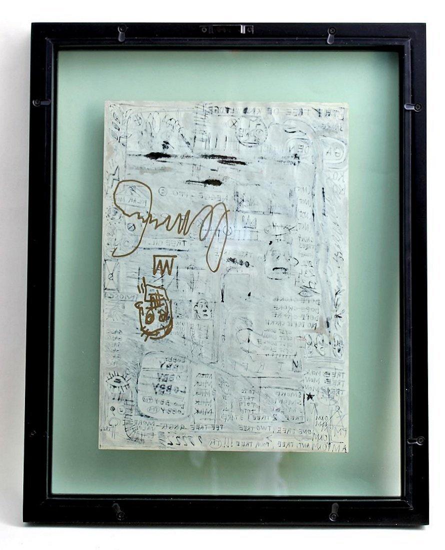 Jean Michel Basquiat 1960-1988 Friend of Haring Warhol - 5