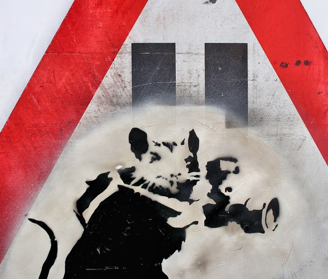 Banksy Graffiti Assoc. Fairey Haring Basquiat Warhol - 3
