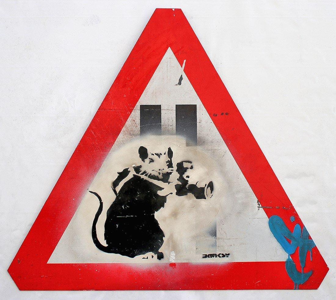 Banksy Graffiti Assoc. Fairey Haring Basquiat Warhol - 7