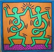 Keith Haring (1958 - 1990) Original Painting Provenance