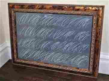 CY TWOMBLY / LARGE  CHALKBOARD PAINTING