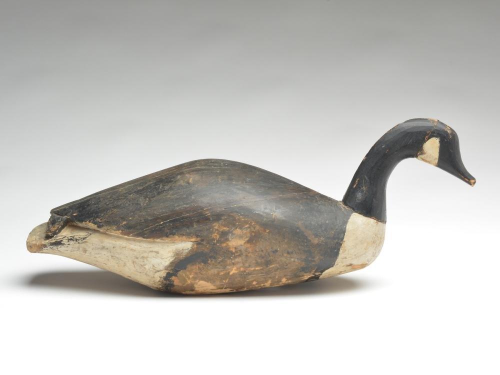 Stickup field goose from Prince Edward Island, Canada.