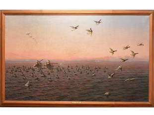 Oil on canvas, Hermann Gustav Simon, Philadelphia,
