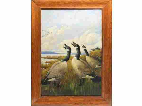 Oil on canvas, Lynn Bogue Hunt (1878-1960).