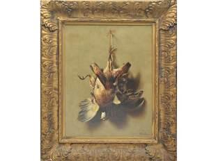Oil on canvas, William Machen (1832-1911), Toledo,
