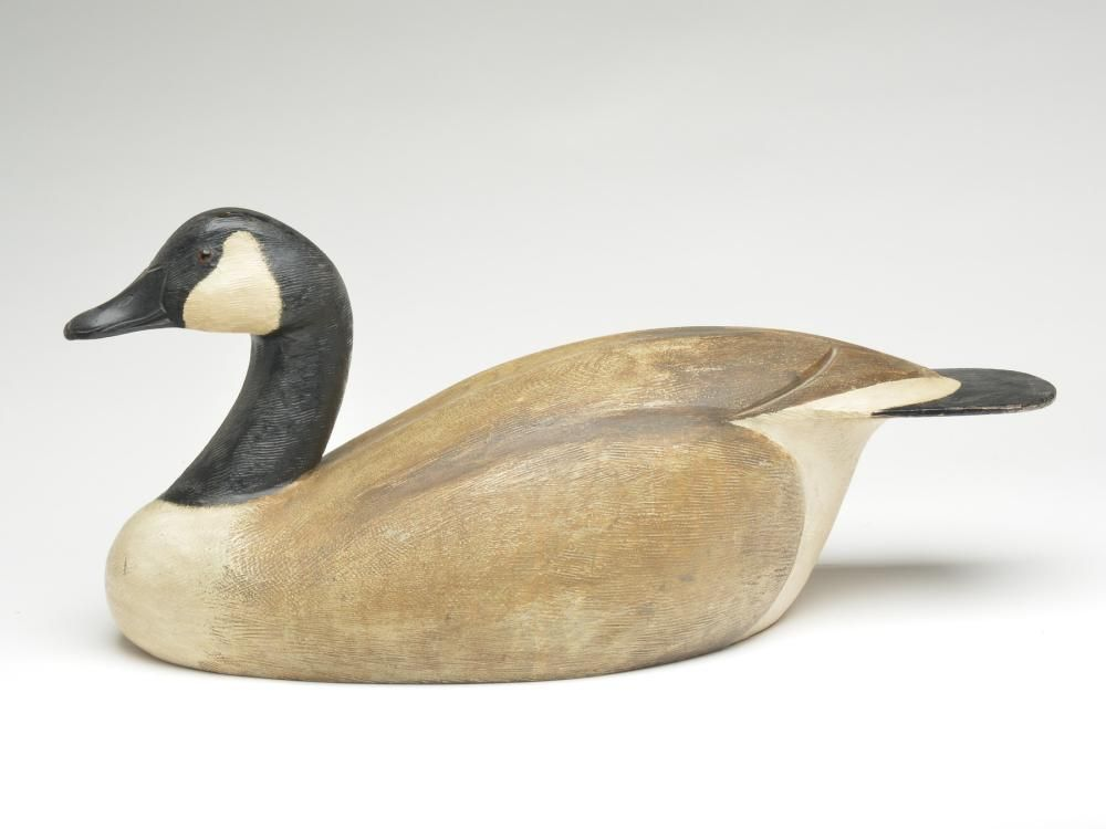Hollow carved Canada goose, Ken Anger, Dunnville,