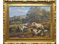 Oil on canvas, Edmund Henry Osthaus (1858-1928).