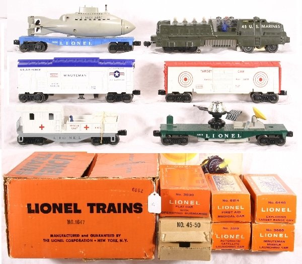 7: Boxed LIONEL Train Set 1647:
