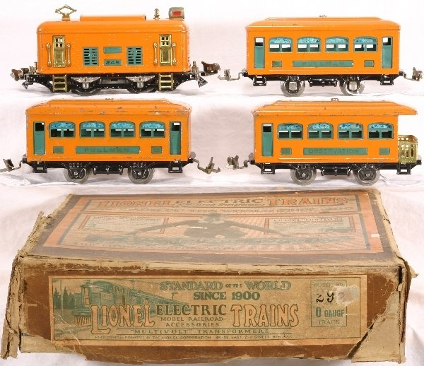8: Boxed LIONEL Train Set 292:
