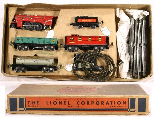 10: Boxed LIONEL Jr. Train Set 1062: