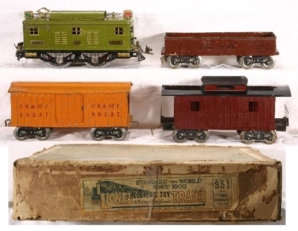 11: Boxed LIONEL Standard Ga. Train Set 351: