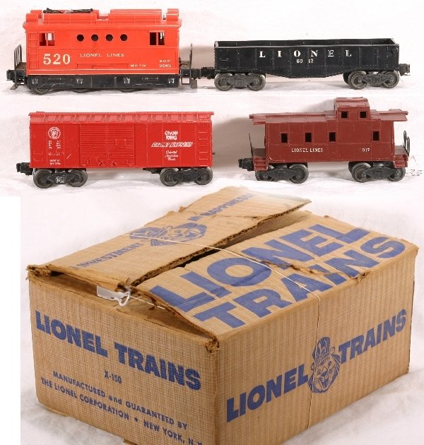 23: Boxed LIONEL Train Set X-150: