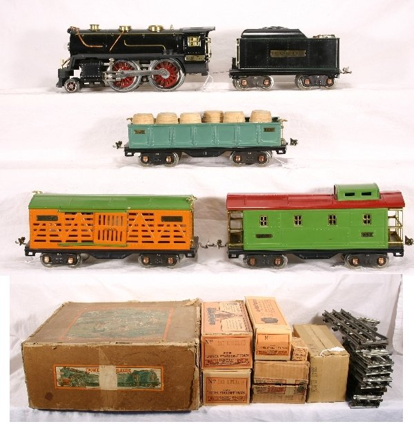 43: Boxed LIONEL Standard Ga. Train Set 386:
