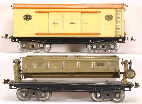 509: 2 LIONEL St. Ga Freight Cars, 218; 214: NETTE