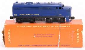 845 MINT Boxed LIONEL 225 CO Alco A Diesel NETTE