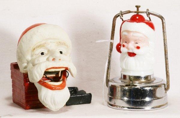 1033: 2 pc. Santa Claus Lot: NETTE