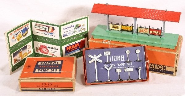 5: NETTE-3 Boxed LIONEL Access, 310, 309, 156: