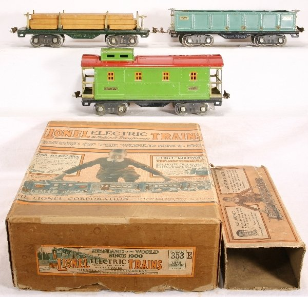 8: NETTE-4 pc. LIONEL St. Ga. Lot: