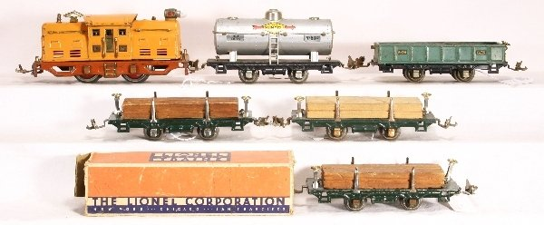 9: NETTE-6 pc. LIONEL Set: