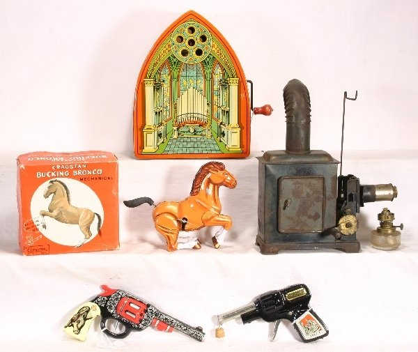 13: NETTE-5 pc. Toy Lot: