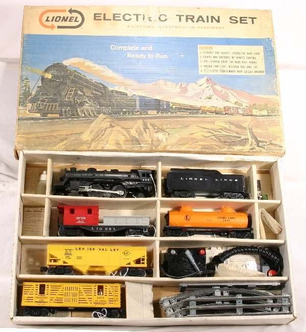 20: NETTE-MINT Boxed LIONEL Set #11540, 239 Loco: