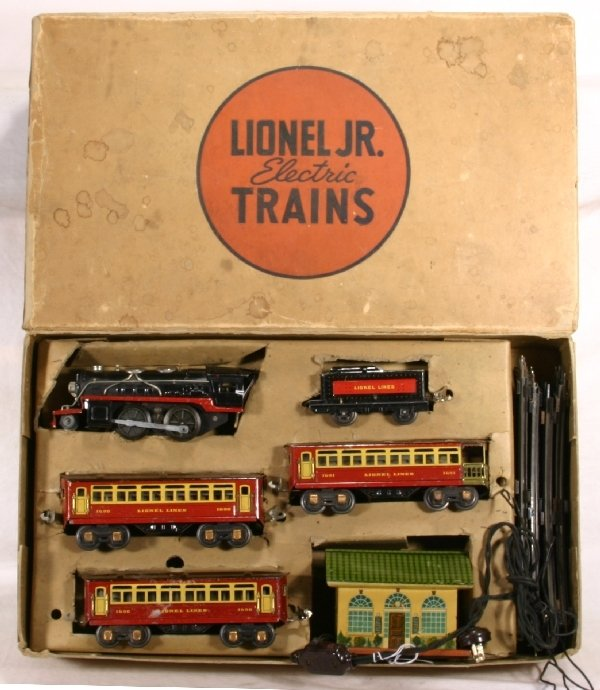 24: NETTE-Boxed LIONEL Jr. Set #1056E, 1681E Loco: