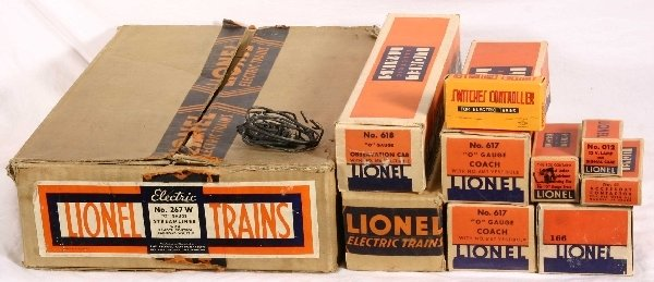 518: NETTE - Nice Empty Boxes for Flying Yankee Set: