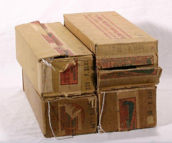 1: NETTE - 4 Empty LIONEL St. Ga. Boxes: