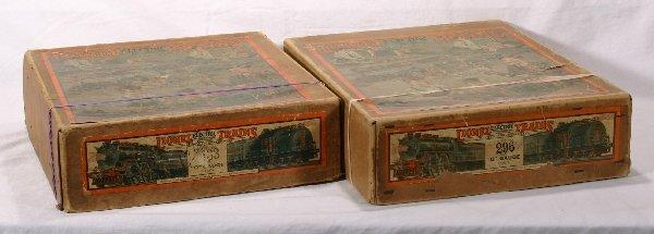 4: NETTE - 2 Empty LIONEL Pre O Ga. Set Boxes: