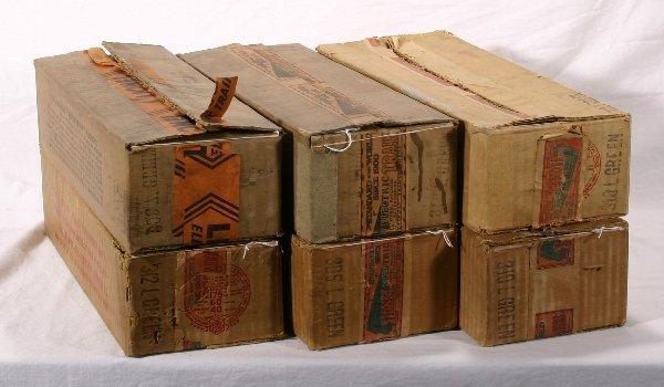 6: NETTE - 6 Empty LIONEL St. Ga. Boxes: