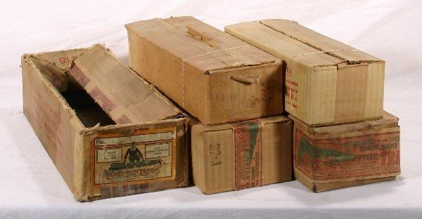 14: NETTE - 5 Empty LIONEL St. Ga. Boxes: