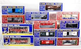 323: NETTE - 13 Pc. K-LINE TCA Train Set: