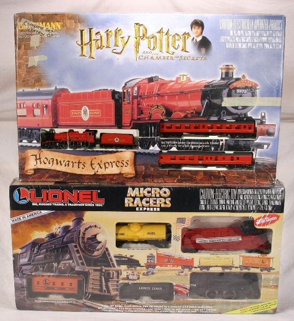 1004: NETTE - 2 Boxed Train Sets, 1 HO:
