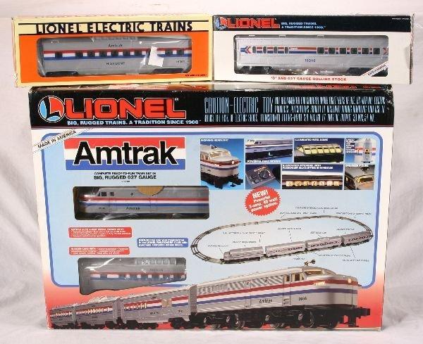 1010: NETTE - 3 Pc. LTI Amtrak Pass. Set:
