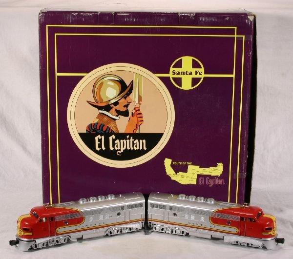 1013: NETTE - MTH 30-2153 El Capitan SF Pass. Set:
