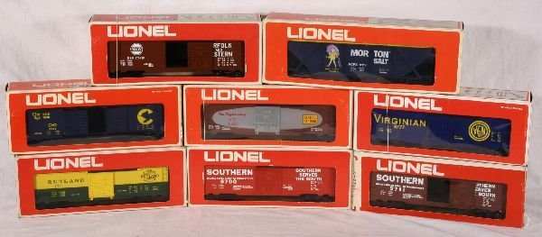 1018: NETTE - 8 LIONEL/MPC Freights: