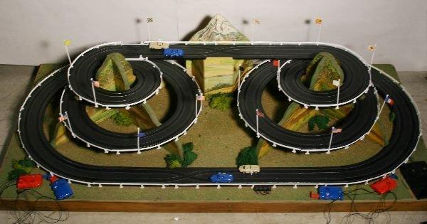 1338: NETTE - LIONEL/SEARS 1966 HO Race Car Display: