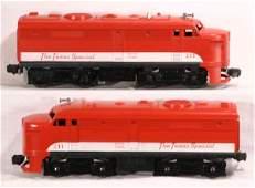 1342 NETTE  LIONEL 211 Texas Special Alco AA Diesels