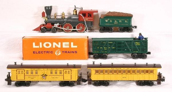 3: NETTE - 5 Pc. LIONEL General Set:
