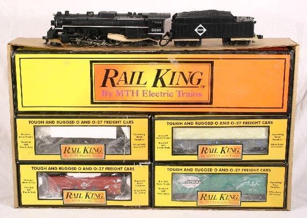 19: NETTE - MTH/RailKing RK-025 Erie Berkshire: