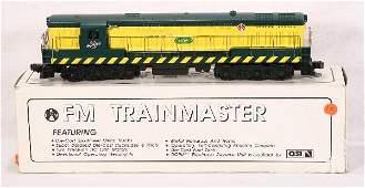 190: NETTE - CUSTOM C&NW TrainMaster Diesel: